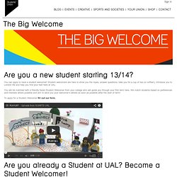 The Big Welcome @SUARTS