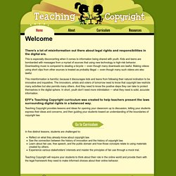 Welcome | Teaching Copyright