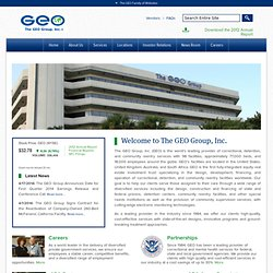 The GEO Group Inc.