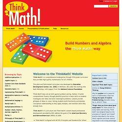 CCSS Mathematical Practices - Thinkmath