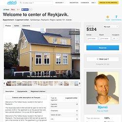 Welcome to center of Reykjavík. à Reykjavik