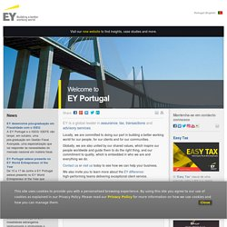 Welcome to EY Portugal - EY - Portugal