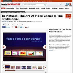In Pictures: The Art Of Video Games @ The Smithsonian - Welcome To The Art Of Video Games