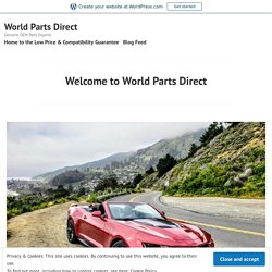 Welcome to World Parts Direct