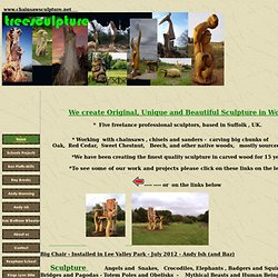 Welcome to the Treesculpture Website