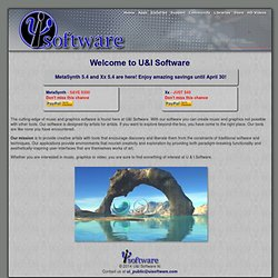 Welcome to U&I Software