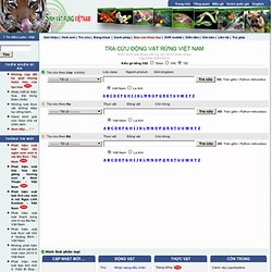 Welcome to Viet Nam Creatures Website