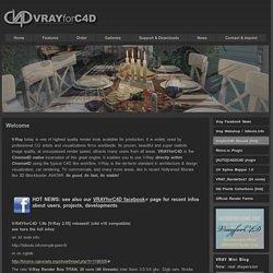 VRAYforC4D Official Site