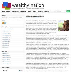 Welcome to Wealthy Nation : Wealthy Nation