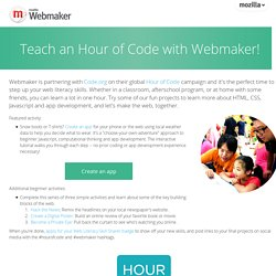 Welcome to Webmaker