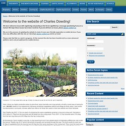 www.charlesdowding.co.uk | No dig gardening