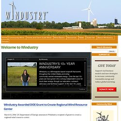 Community Wind Across America | Windustry