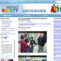 WiredSafety: the world's largest Internet safety, help and educa