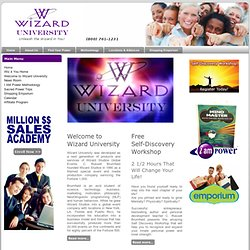 Welcome to Wizard University