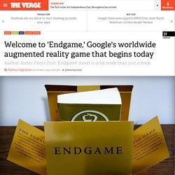 Welcome to 'Endgame,' Google's worldwide augmented reality game that begins today