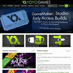 YoYo Games | Home