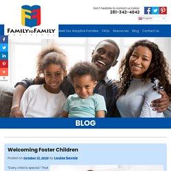 Welcoming Foster Children
