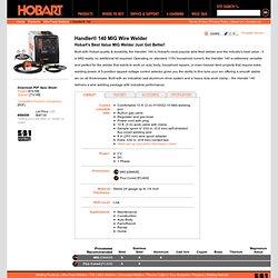 Hobart Welders - Products - Wire Feed Welders - Handler 140