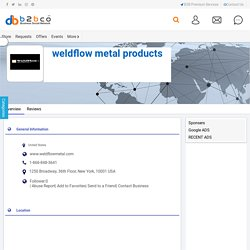 Precision Metal Fabrication Companies in USA – Weldflow Metal Products