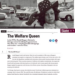 Linda Taylor, welfare queen: Ronald Reagan made her a notorious American villain. Linda Taylor's other sins were far worse.