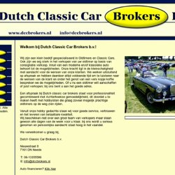 Dutch Classic Car Brokers >Neede