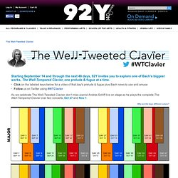 The Well-Tweeted Clavier - 92nd Street Y