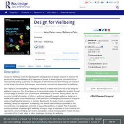 Design for Wellbeing: An Applied Approach.