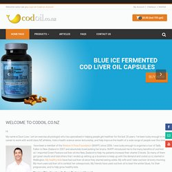 Fermented Cod Liveroil Auckland, Wellington, Christchurch, Tauranga, Dunedin