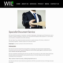 process server — Wellington Investigations
