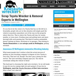 Wellington Toyota Dismantlers Lower Hutt, Top Cash for Toyota