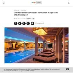 Wellness hotelek Budapest környékén, mégis távol a főváros zajától - Room5