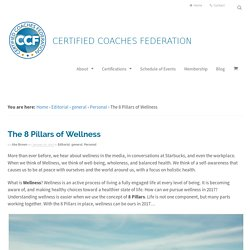 8 Pillars of Wellness - Certified Coaches Federation