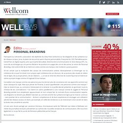 Wellnews, le blog de l'agence Wellcom