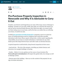 Pre-Purchase Property Inspection in Newcastle and Why It Is Advisable to Carry It Out