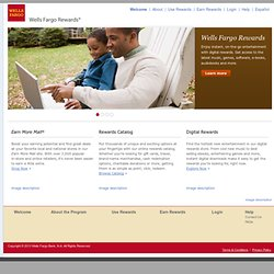 Wells Fargo Rewards - Home