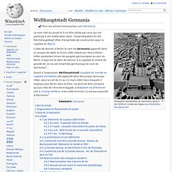Welthauptstadt Germania