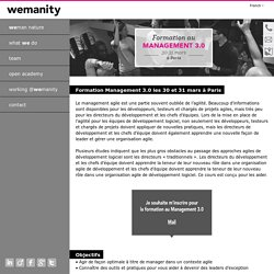 Wemanity - Formation Management 3.0