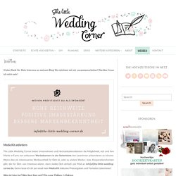 Hochzeitsblog - The Little Wedding Corner