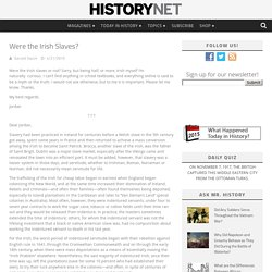 Were the Irish Slaves?