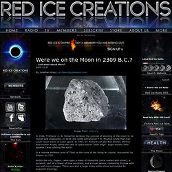 Were we on the Moon in 2309 B.C.?