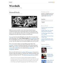 Wordnik ~ all the words