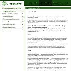 Uitleg werkzame stoffen - Canshaman