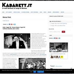 Werner Finck - Kabarett.it : Kabarett.it