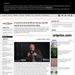 Werner Herzog terrà un corso di cinema online