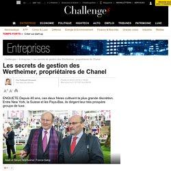 Les secrets de gestion des Wertheimer, propriétaires de Chanel - 21 juillet 2014