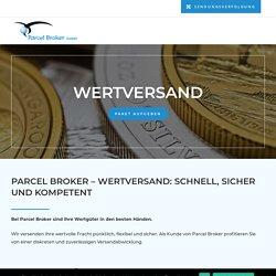 Wertversand & Werttransport - Parcel Broker GmbH
