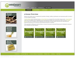 Wesbeam » Software » e-house Overview