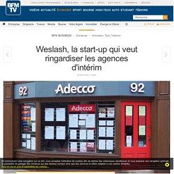Weslash, la start-up qui veut ringardiser les agences d'intérim