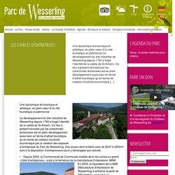 Parc de Wesserling » Les Espaces d'Entreprises