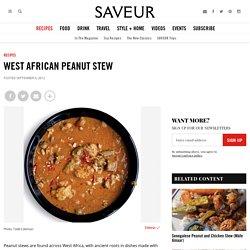 West African Peanut Stew Recipe